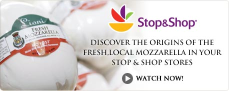 Discover the origins of the fresh, local mozzarella in your Stop & Shop stores