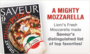 Look for Lioni's Mighty Mozzarellas in the May 2013 issue of Saveur!