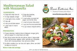 Mediterranean Salad with Mozzarella
