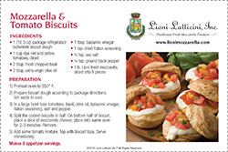 Mozzarella & Tomato Biscuits
