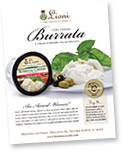 Lioni Latticini Introduces Their Handcrafted Italian Treasure, Burrata Con Panna!