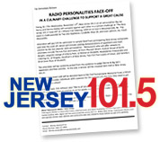 Lioni Co-Sponsors NJ 101.5 Cook off with Big Joe Henry and Dennis Malloy