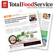Featured in the September 2014 Issue of Total Food Service Magazine